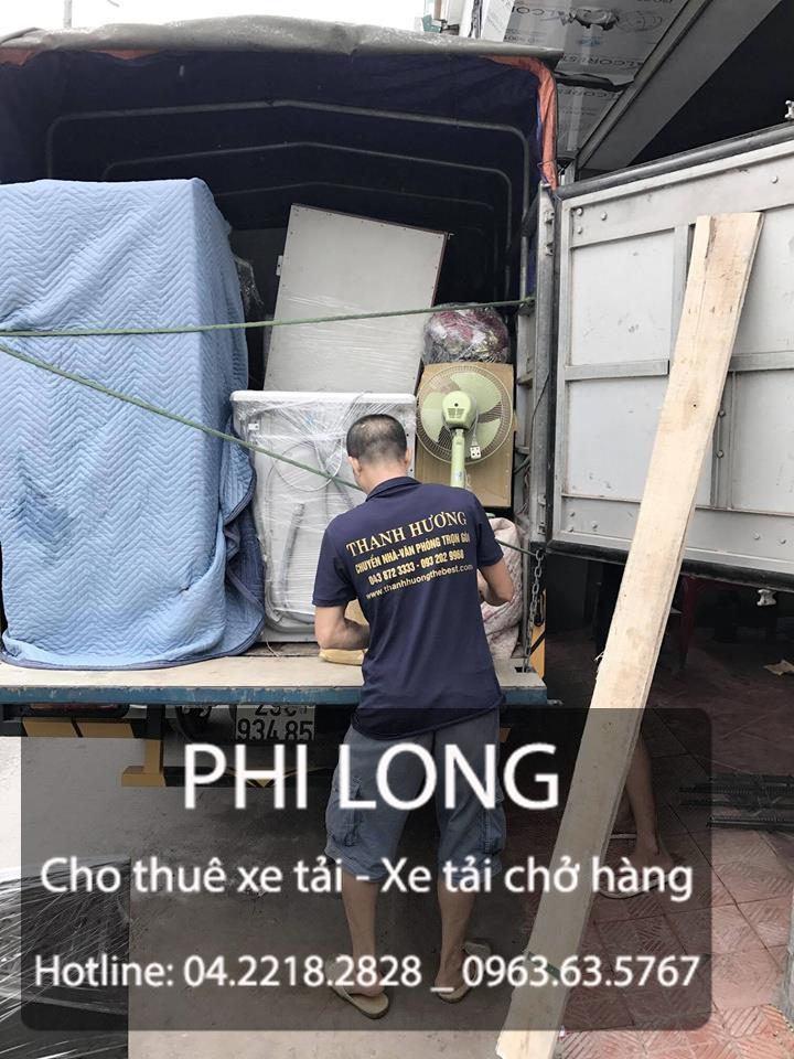 Công ty Phi Long cho thuê xe tải chuyển nhà giá rẻ nhất tại phố Ngô Thì Nhậm
