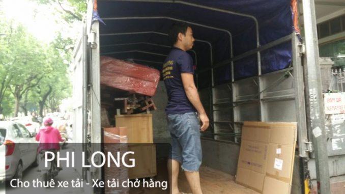Taxi tải Phi Long cho thuê xe tải chở hàng tại phố Ngô Quyền