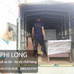 Phi Long cho thuê xe tải chuyển nhà giá rẻ tại phố Lê Văn Hưu