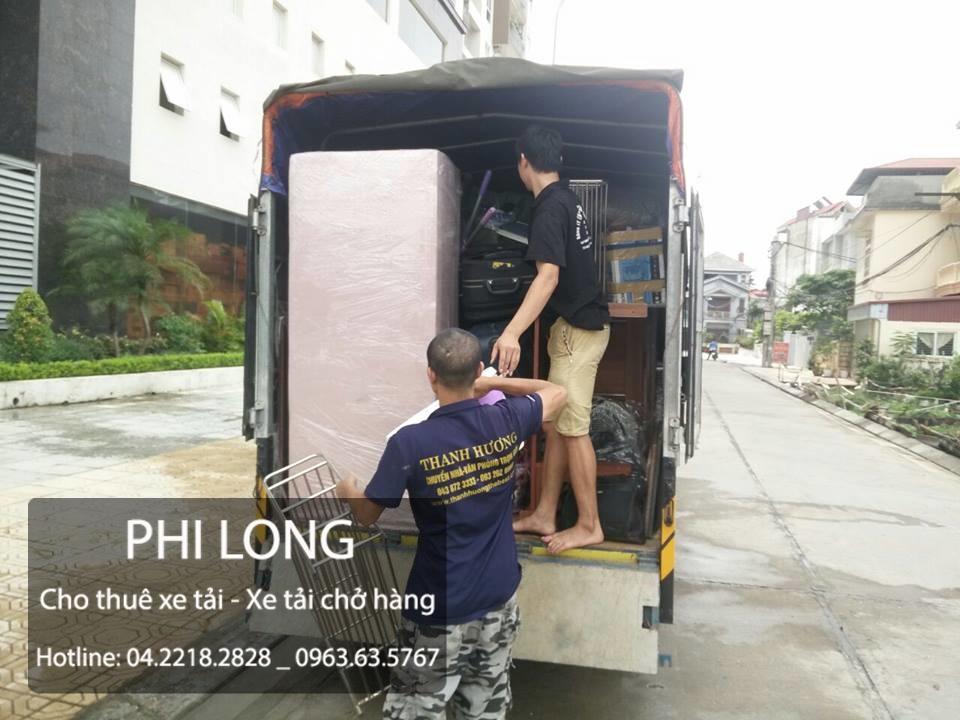 Cho thuê xe tải chở hàng giá rẻ tại phố Lê Văn Hưu