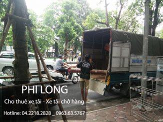 Công ty taxi tải Phi Long tại phố Lê Hồng Phong