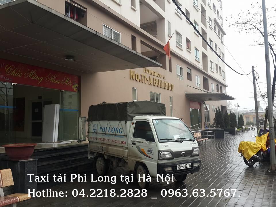 Cho thuê xe tải tại quận Hoàng Mai Phi Long