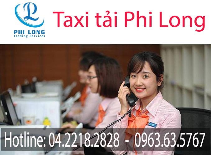 Tổng đài taxi tải Phi Long tại Hà Nội