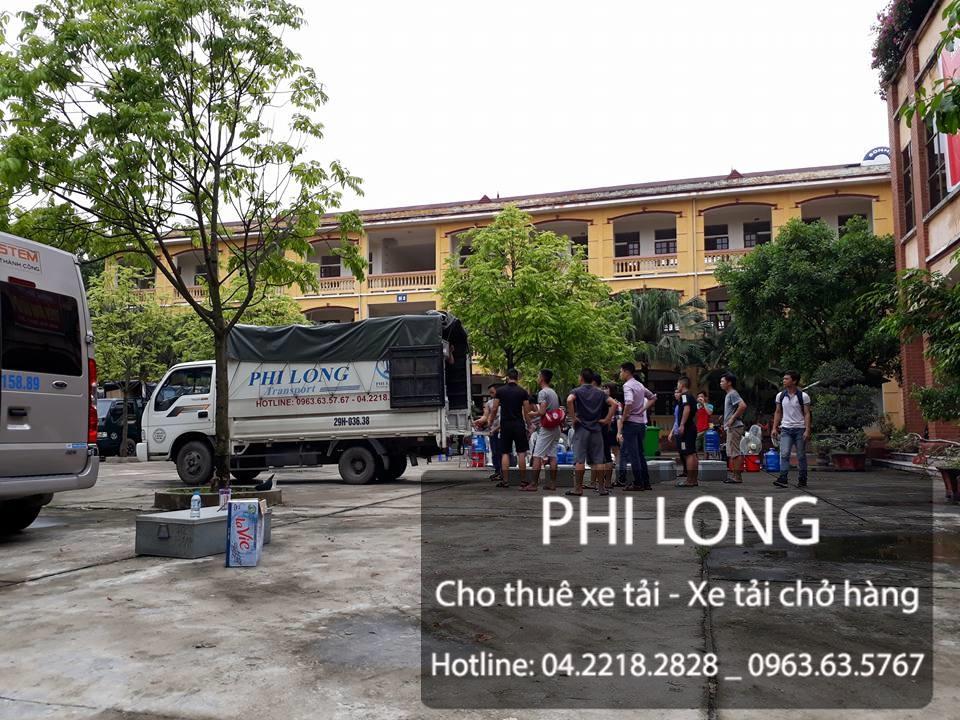 Phi Long cho thuê xe tải chuyển nhà trọn gói tại phố Ngô Quyền