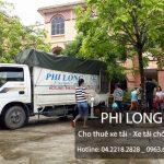 Taxi tải Phi Long hãng cho thuê xe tải chở hàng giá rẻ tại phố Ngô Thì Nhậm