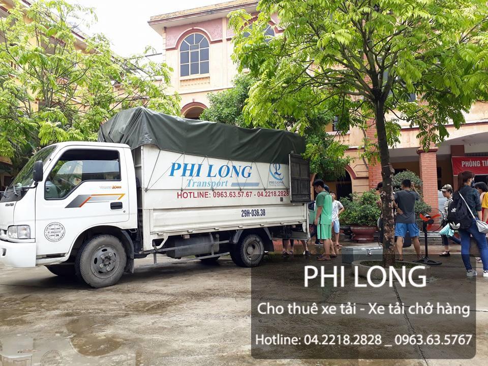 Cho thuê xe tải chở hàng giá rẻ tại phố Lê Hồng Phong