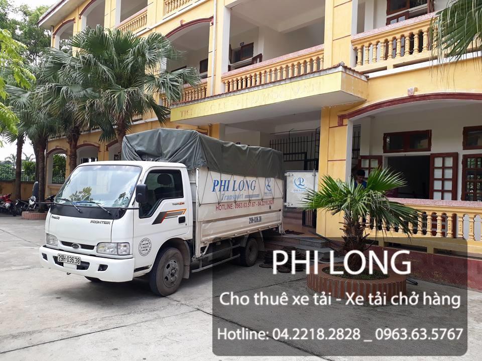 Cho thuê xe tải chở hàng giá rẻ tại phố Lê Quý Đôn