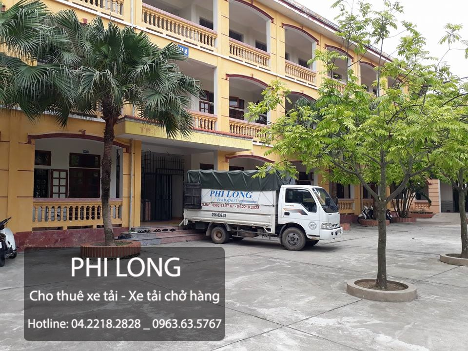 Phi Long hãng cho thuê xe tải chở hàng giá rẻ tại phố Lê Lai