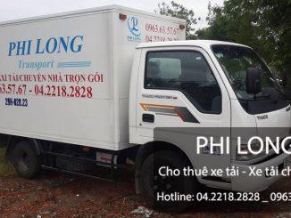 Taxi tải Phi Long tại phố Vũ Hữu