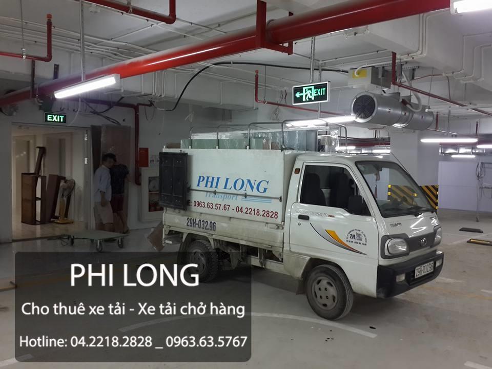 Cho thuê xe tải giá rẻ tại phố Vũ Hữu