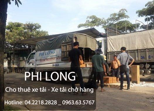Dịch vụ cho thuê xe tải giá rẻ Phi Long tại phố Văn Quán
