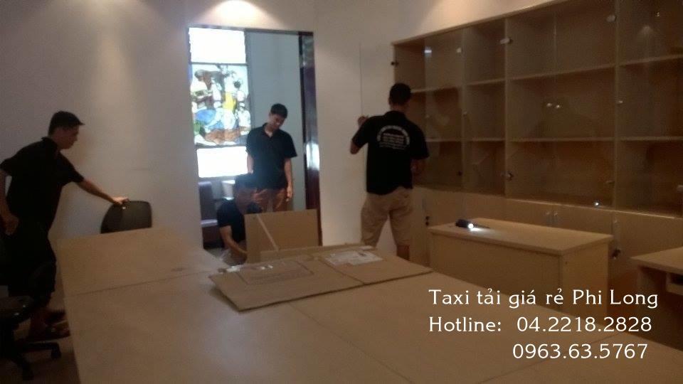 Dịch vụ taxi tải chuyển văn phòng Phi Long