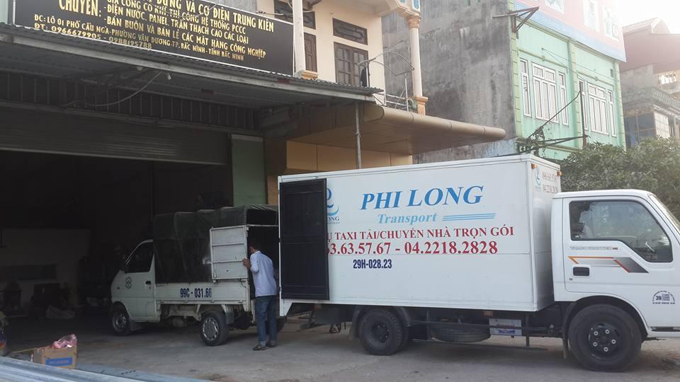 Cho thuê xe tải chuyên nghiệp tại phố Chiến Thắng Phi Long