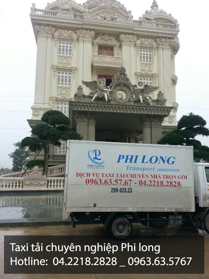 Taxi- tải Phi Long giá rẻ nhất tại Hà Nội