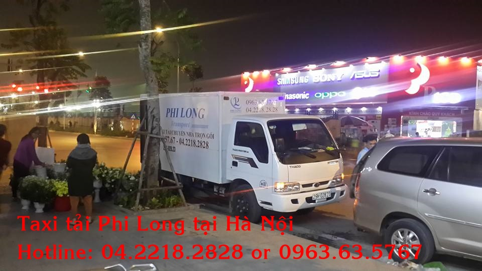 Cho thuê xe tải tại huyện Ba Vì