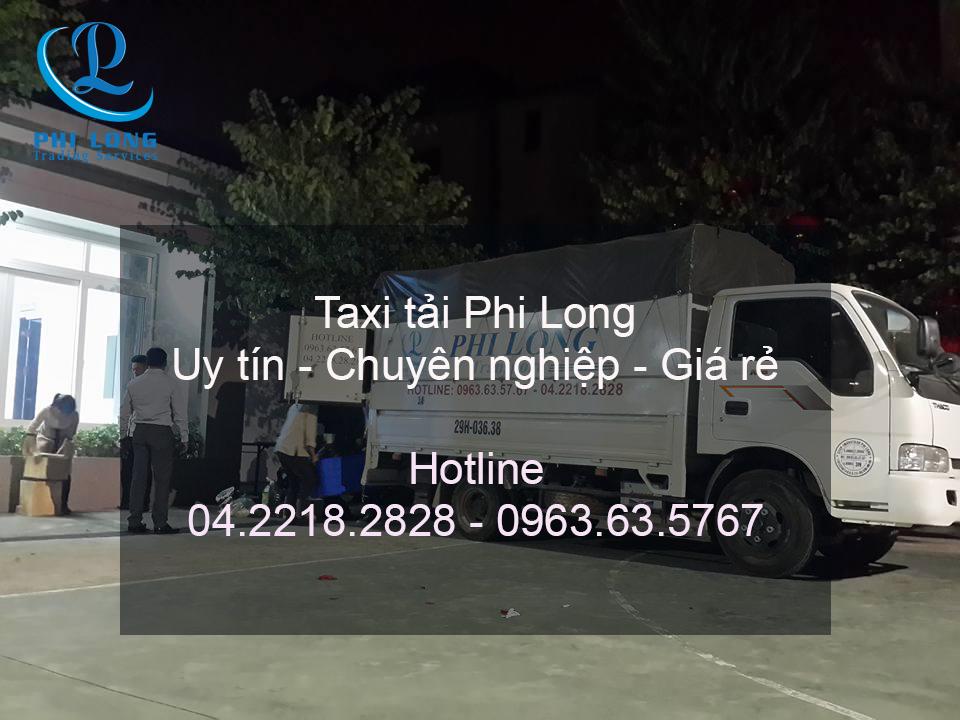 Phi Long cho thuê xe tải chuyển nhà giá rẻ tại đường Nguyễn Xiển