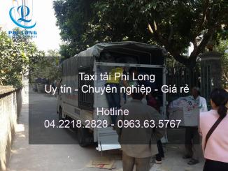 Dịch vụ cho thuê xe tải giá rẻ tại phố Hoàng Văn Thái Phi Long