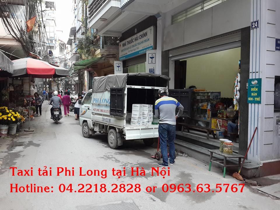 Dịch vụ cho thuê xe tải uy tín tại phố Vương Thừa Vũ