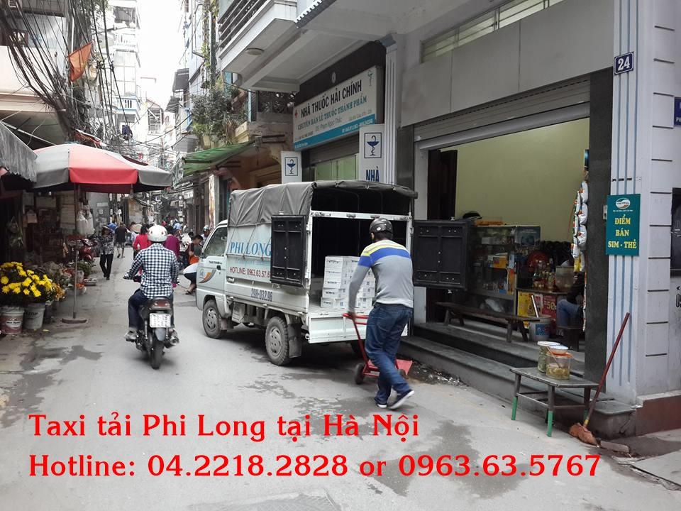 Taxi tải Phi Long chuyển nhà chuyên nghiệp