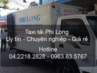 Taxi tải giá rẻ Phi Long tại Phố Hoàng Văn Thái