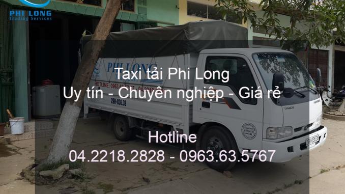 Dịch vụ cho thuê xe tải giá rẻ Phi Long tại huyện Ba Vì