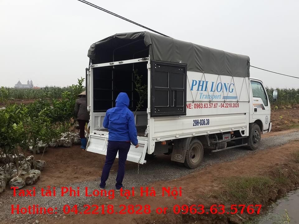 Xe-tải-Phi-Long-chở-hàng-cây-cảnh-tết