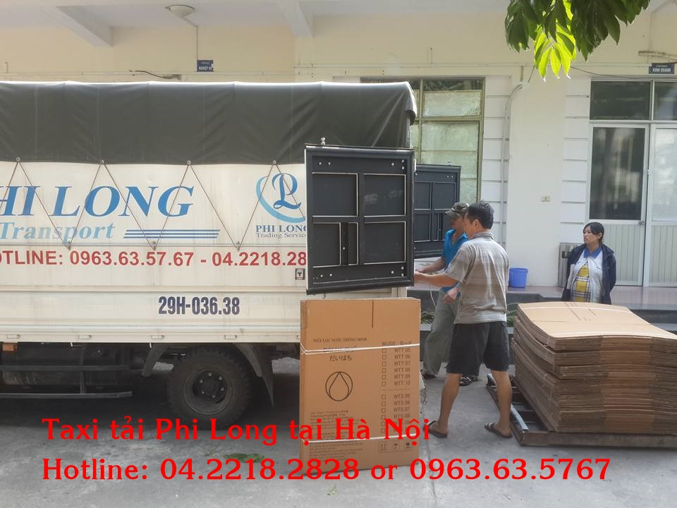 Cho thuê xe tải uy tín tại quận Thanh Xuân