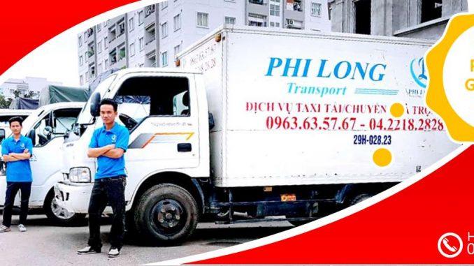 Xe tải chuyển nhà giá rẻ tại phố Nam Tràng