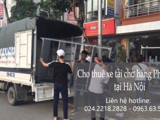 Dịch vụ xe tải chuyển nhà giá rẻ tại phố Cực Lộc