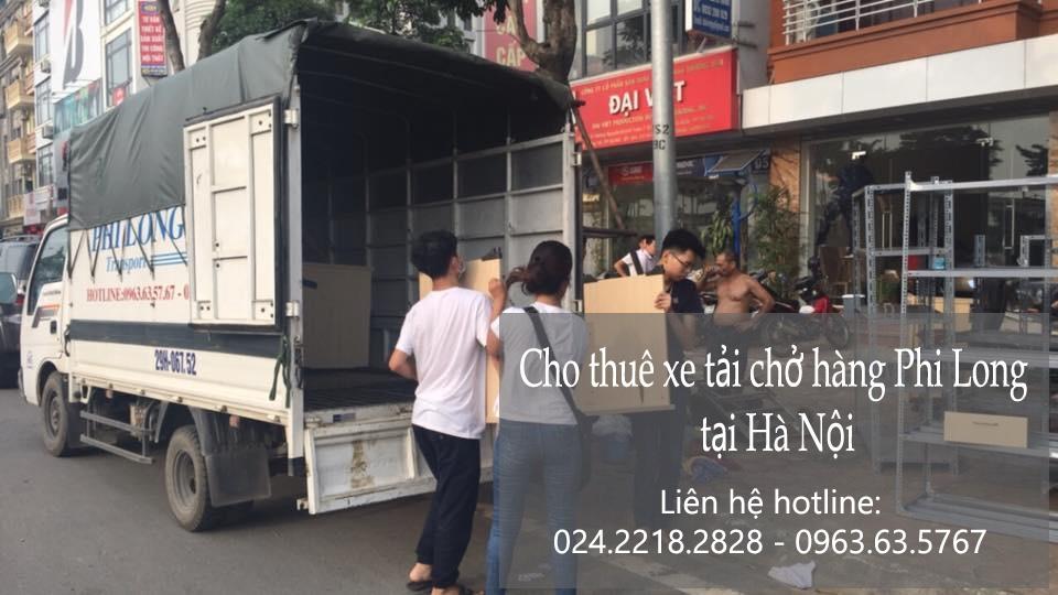 Xe tải chuyển nhà giá rẻ tại phố Yên Bình