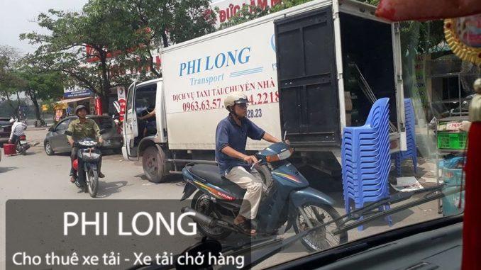 Dịch vụ cho thuê xe tải Phi Long tại đường Đại Lộ Thăng Long