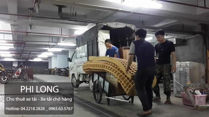 Dịch vụ cho thuê xe tải chuyển nhà giá rẻ Phi Long tại phố Quan Nhân