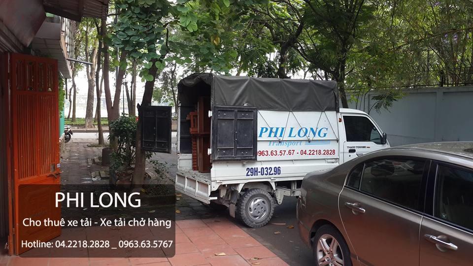 Taxi tải chuyển nhà tại phố Triều Khúc-Phi Long