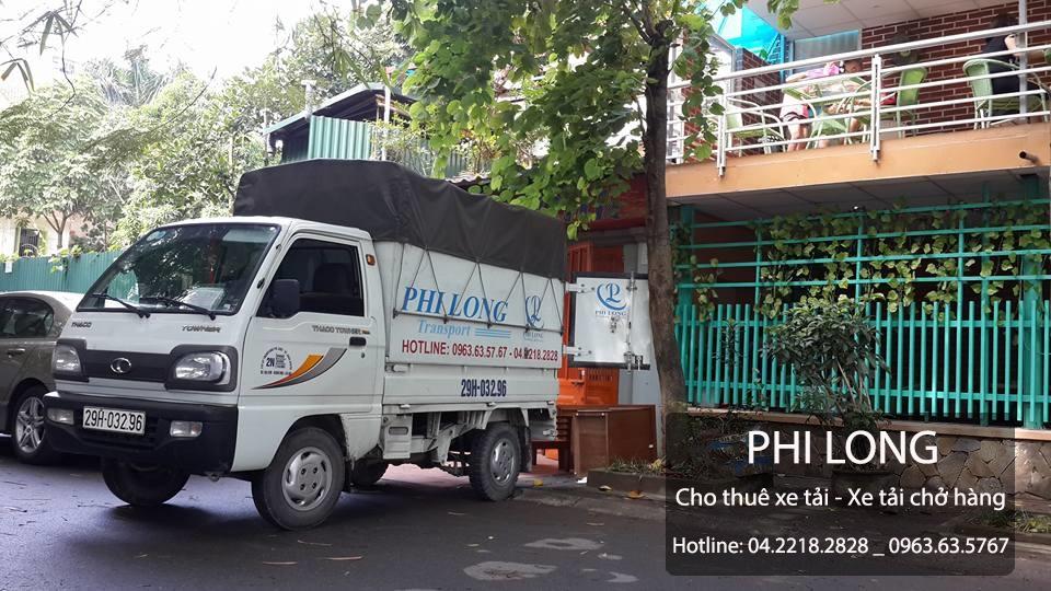 Dịch vụ cho thuê xe tải chuyển nhà giá rẻ tại phố Triều Khúc