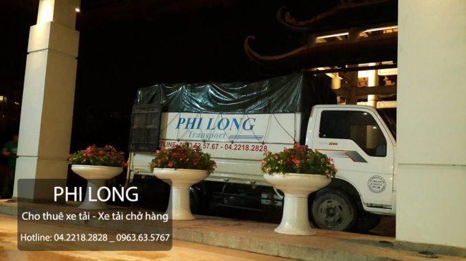 Cho thuê xe tải giá rẻ tại phố Ao Sen