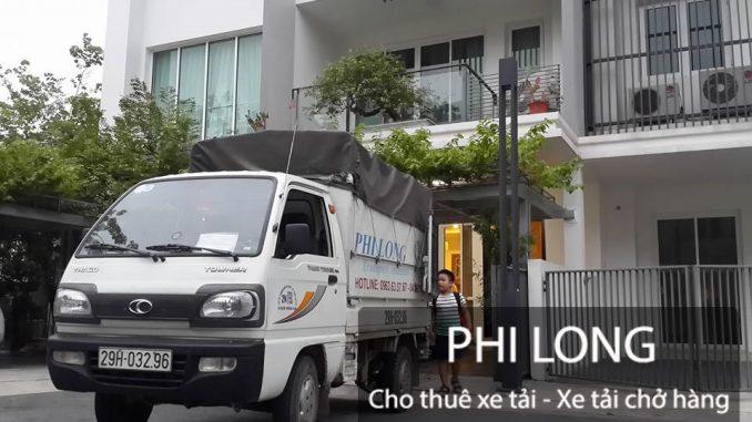 Phi Long hãng cho thuê xe tải chở hàng số 1 tại phố Phố Đại An