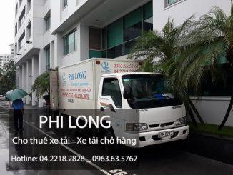 Cho thuê xe tải chuyên nghiệp uy tín tại phố Quang Trung