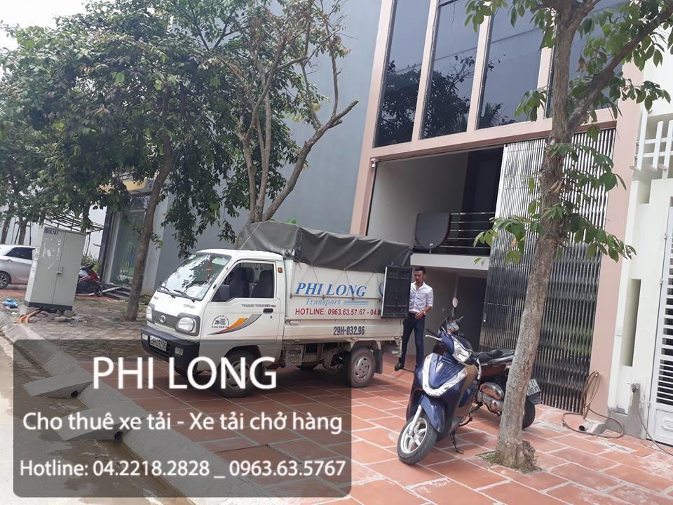 Dịch vụ cho thuê xe tải chở hàng chuyển nhà tại phố Phố Đại An