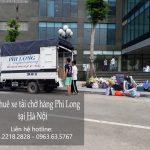 Cho thuê xe tải chuyển nhà giá rẻ tại phố Mai Phúc - 0963.63.5767