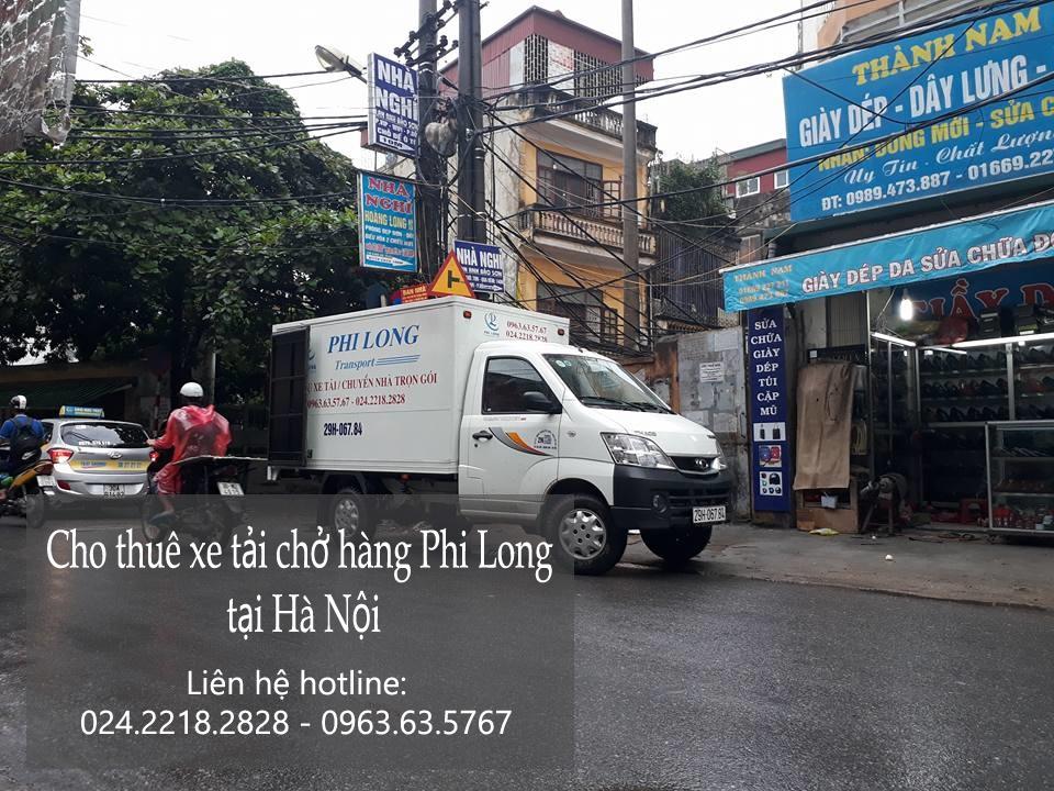 Cho thuê xe tải chuyển nhà giá rẻ tại phố Vĩnh Hồ