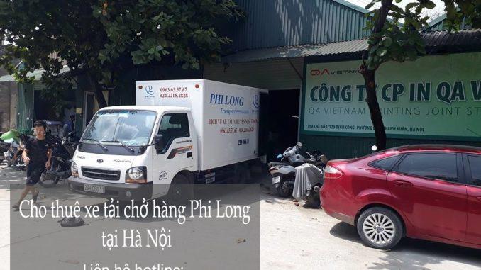 Xe tải chuyển nhà giá rẻ tại phố Trần Thủ Độ