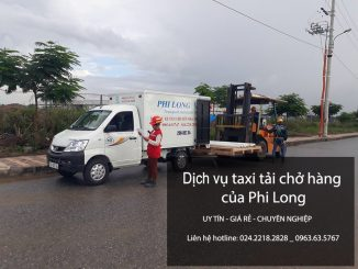 Xe tải chuyển nhà giá rẻ tại phố Phú Thượng