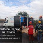 Xe tải 1,25 tấn chuyển nhà giá rẻ tại phố Nguyễn Công Trứ