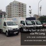Dịch vụ cho thuê xe tải chuyển nhà tại phố Hòa Mã
