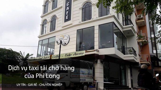 Cho thuê xe tải chở hàng chuyển nhà tại phố Hàm Long