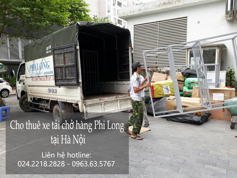 Cho thuê xe tải chuyển nhà giá rẻ tại phố Huỳnh Văn Nghệ-0963.63.5767