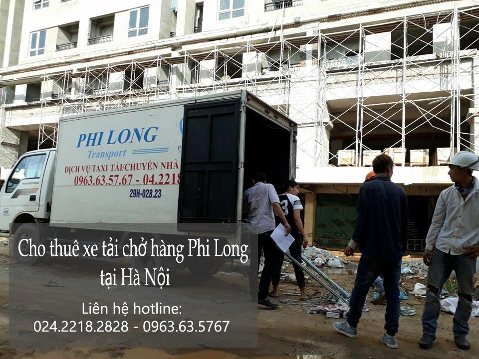 Cho thuê xe tải chuyển nhà giá rẻ tại phố Lệ Mật-0963.63.5767