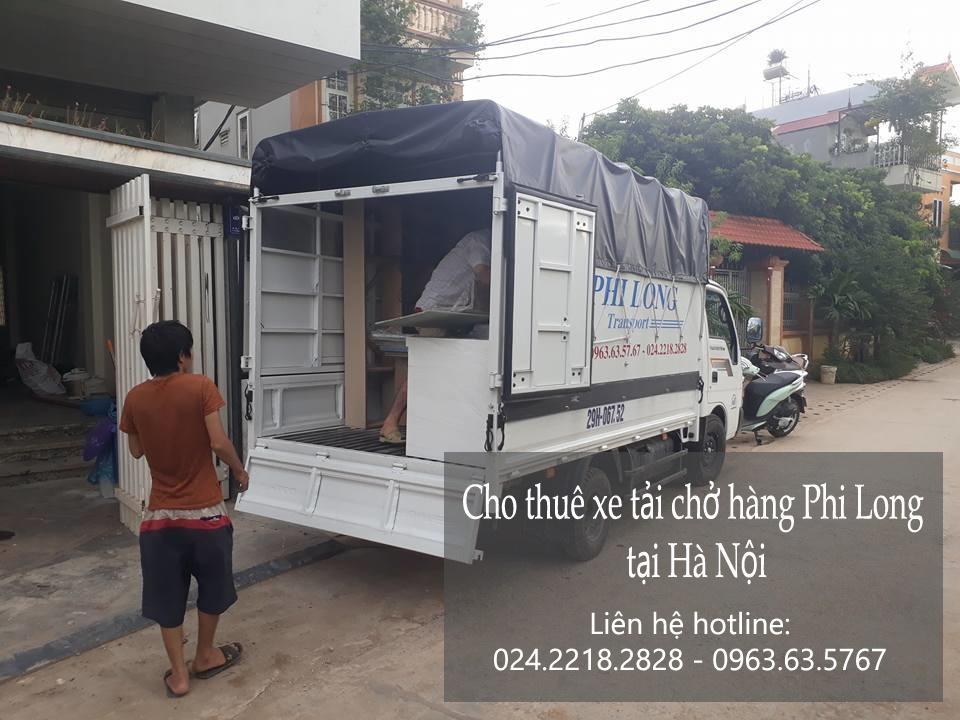 Dịch vụ cho thuê xe tải chở hàng tại phố Phủ Đổng Thiên Vương