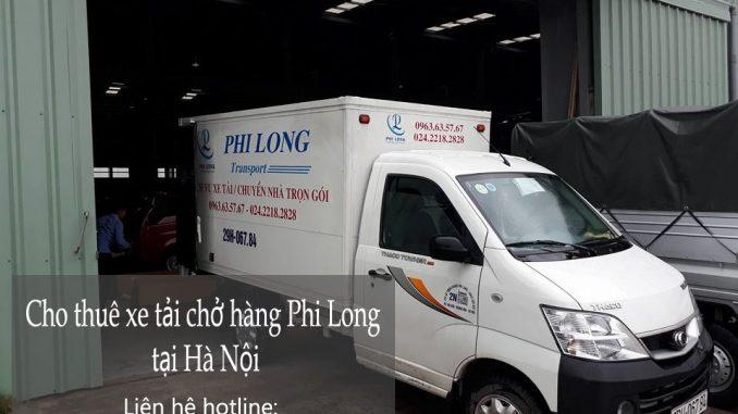 Cho thuê xe tải chuyển nhà giá rẻ tại phố Chu Huy Mân-0963.63.5767