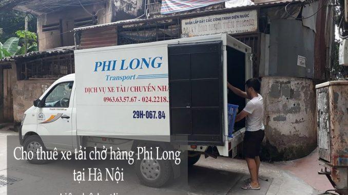 Cho thuê xe tải chuyển nhà giá rẻ tại phố Trần Danh Tuyên-0963.63.5767